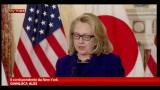 19/01/2013 - Algeria, Hillary Clinton: occorre cautela con gli ostaggi
