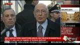 25/01/2013 - Mps, Napolitano: questione grave ma fiducia in Bankitalia