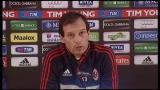 26/01/2013 - Milan, Allegri fa il punto sull'attacco rossonero