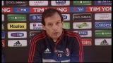 26/01/2013 - Milan, Allegri fa il punto sull'attacco rossonero