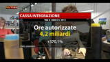 27/01/2013 - Crisi, boom della cassa integrazione negli ultimi 4 anni