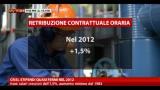 28/01/2013 - Crisi, stipendi quasi fermi nel 2012
