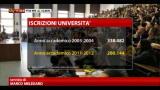 31/01/2013 - Università, meno iscritti e meno docenti