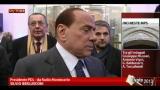 31/01/2013 - MPS, Berlusconi: PD ha faccia tosta nel negare rapporti
