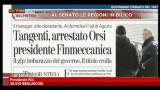 13/02/2013 - Berlusconi: &quot;Finmeccanica, danno per l'economia&quot;.
