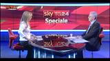 20/02/2013 - Monti ospite allo Speciale di Sky TG24