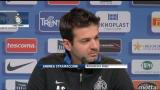 """23/02/2013 - Stramaccioni: """"Il primo derby è stato incredibile"""""""