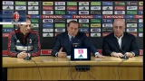 23/02/2013 - Berlusconi, Allegri e Galliani in conferenza stampa