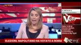 Elezioni, Napolitano ha votato a Roma