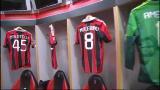 24/02/2013 - Spogliatoio Milan, è tutto pronto