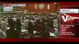 25/02/2013 - Cuba, Fidel Castro torna in parlamento al fianco di Raul