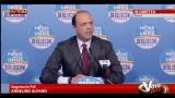 """26/02/2013 - Alfano: """"se Bersani vuole collaborare con Grillo faccia lui"""""""