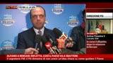 Alfano a Bersani: rifletta, così il Paese va a sbattere