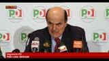 Bersani: nostra proposta non è una mia pretesa ma un dovere