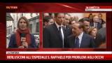 Berlusconi all'ospedale S.Raffaele per problemi agli occhi