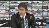 09/03/2013 - Juventus, Conte: &quot;Resto qui per arrivare per al top&quot;