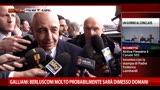 Galliani:Berlusconi molto probabilmente sarà dimesso domani