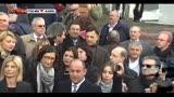 Sit-in parlamentari PDL davanti al tribunale di Milano