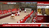 I cardinali giurano nella Cappella Sistina (1a parte)