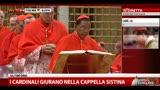 I cardinali giurano nella Cappella Sistina (2a parte)