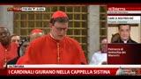 I cardinali giurano nella Cappella Sistina (3a parte)