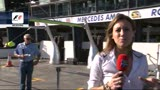 F1, in Pit Lane dell'Albert Park di Melbourne