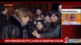 Papa Francesco eletto, la gioia di argentini e italiani