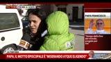 L'emozione dei cittadini di Portacomaro (Asti)