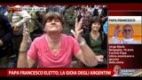 Papa Francesco eletto, la gioia degli argentini