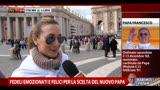 Fedeli emozionati e felici per la scelta del nuovo Papa