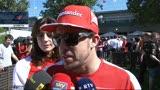 Alonso: tra gli avversari Hamilton, il più temibile