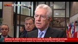 14/03/2013 - UE, Monti: Italia ascoltata oggi, mi auguro anche in futuro