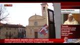 Papa Francesco, grande gioia a Portacomaro