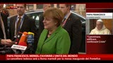 14/03/2013 - Papa Francesco, Merkel: favorira l'unita del mondo