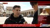14/03/2013 - Papa, la gioia di Assisi per il nome scelto da Bergoglio