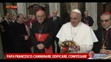 14/03/2013 - Papa Francesco: &quot;La nostra vita  un cammino senza sosta&quot;