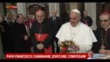 """14/03/2013 - Papa Francesco: """"La nostra vita è un cammino senza sosta"""""""