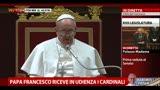 15/03/2013 - Papa Francesco riceve i cardinali