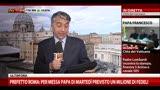 15/03/2013 - Papa Francesco ha ricevuto i cardinali nella Sala Clementina