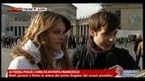 15/03/2013 - Ai fedeli piace l'umiltà di Papa Francesco