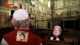 """Gli Sgommati: Grillo, il Papa e la """"manita de Dios"""""""