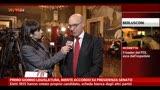 Presidenza Camere, Latorre: insistiamo in ricerca accordo