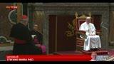 16/03/2013 - Papa Francesco ai cardinali: non cediamo al pessimismo
