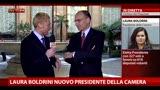 Boldrini presidente della Camera, le parole di Enrico Letta