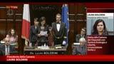 La neoeletta Presidente della Camera Boldrini ricorda Moro
