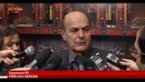 Bersani: grande soddisfazione per l'elezione di Boldrini