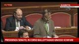 Senato, Calderoli contesta l'esito della votazione
