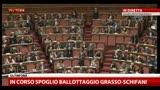 Pietro Grasso eletto Presidente del Senato