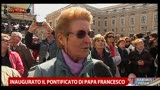 Inaugurato Pontificato Papa Francesco, la voce dei fedeli