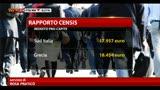 Mezzogiorno, Censis: redditi più bassi che in Grecia